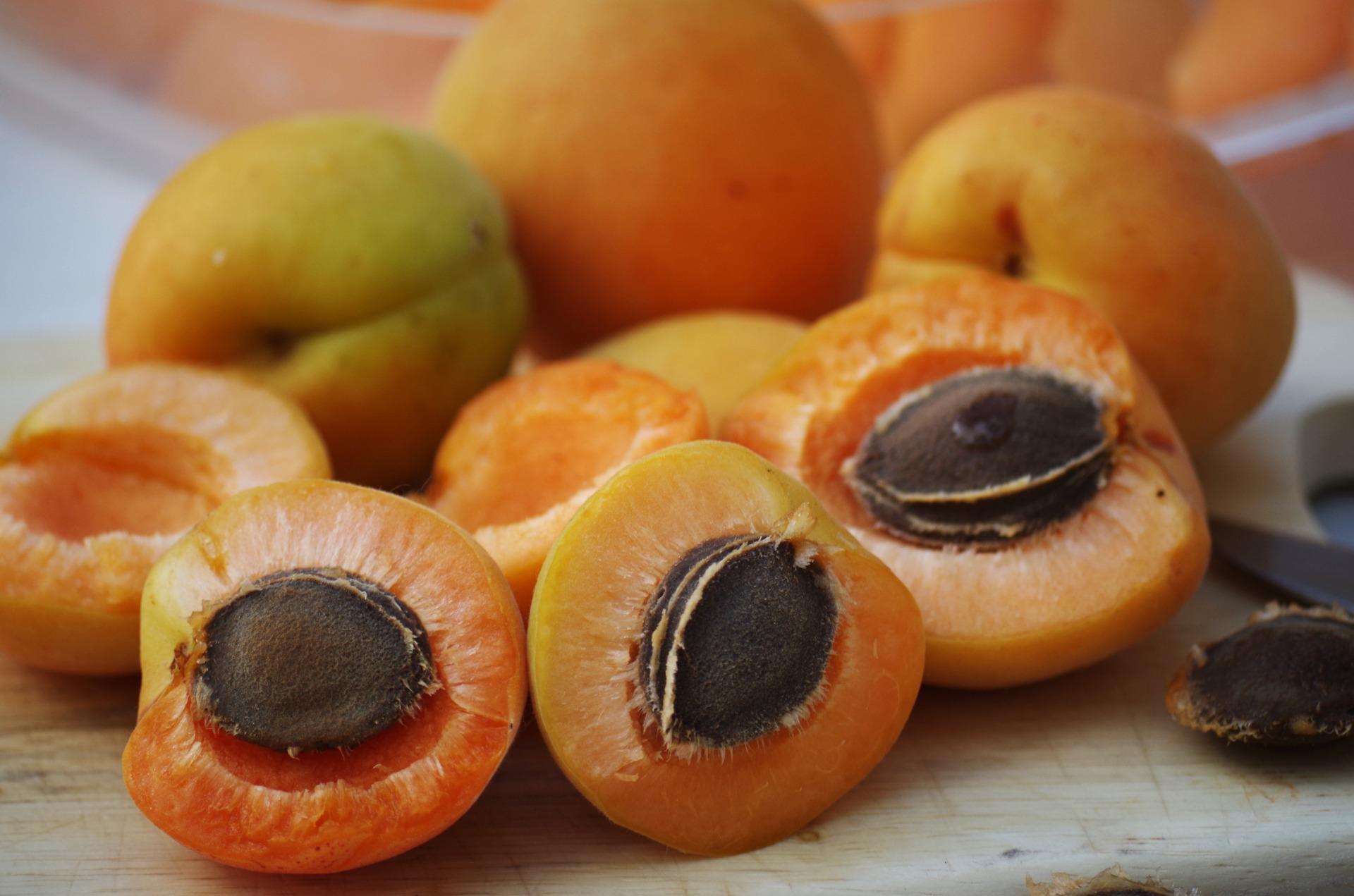 gratin amandine à l'abricot